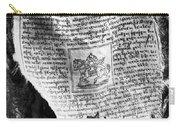 Tibetan Prayer Flag Carry-all Pouch