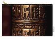 Tibetan Prayer Wheel Carry-all Pouch