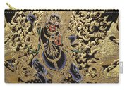 Tibetan Thangka - Vajrapani - Protector And Guide Of Gautama Buddha Carry-all Pouch