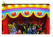 Ticket Booth Of Flowers Carry-all Pouch