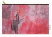 Tickled Pink 1 Carry-all Pouch by Kristen Abrahamson
