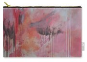 Tickled Pink 3 Carry-all Pouch by Kristen Abrahamson