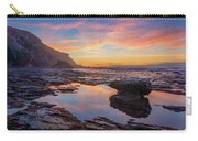 Tidal Pool At Sunset Carry-all Pouch by Dmytro Korol