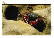 Tide Pool Crab 1 Carry-all Pouch