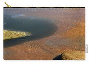 Tide Pool With Coquina Rock Carry-all Pouch