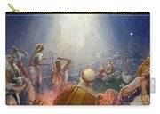 Tidings Of Great Joy Carry-all Pouch by John Millar Watt