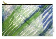 Tie Dye Art. Rainforest In Spring Carry-all Pouch