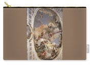 Tiepolo Palacio Real The Apotheosis Of The Spanish Monarchy Giovanni Battista Tiepolo Carry-all Pouch