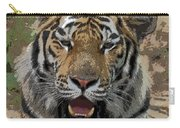 Tiger Abstract Carry-all Pouch