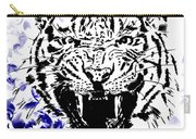 Tiger And Paisley Carry-all Pouch