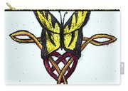 Tiger-butterfly Celtic Double Knot Carry-all Pouch