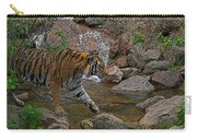 Tiger Crossing Poster Carry-all Pouch