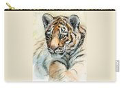 Tiger Cub Portrait 865 Carry-all Pouch