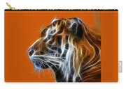 Tiger Fractal Carry-all Pouch