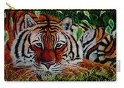 Tiger In Jungle Carry-all Pouch