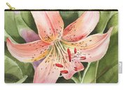 Tiger Lily Watercolor By Irina Sztukowski Carry-all Pouch