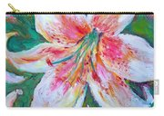Tiger Lily Passion Carry-all Pouch