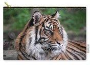 Sumatran Tigress Portrait  Carry-all Pouch