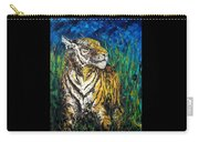 Tiger Night Hunt Carry-all Pouch