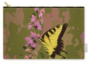 Tiger On Blazing Star Carry-all Pouch