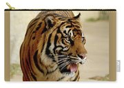 Tiger Pacing Carry-all Pouch