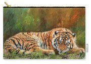 Tiger Repose Carry-all Pouch