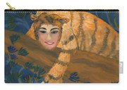 Tiger Sphinx Carry-all Pouch