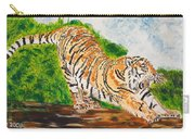 Tiger Stretching Carry-all Pouch
