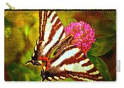 Zebra Swallowtail Butterfly - Digital Paint 3 Carry-all Pouch