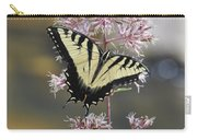 Tiger Swallowtail Butterfly On Common Milkweed 2 Carry-all Pouch