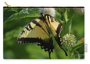 Tiger Swallowtail On Button Bush Carry-all Pouch