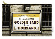 Tigerland Band Carry-all Pouch by Scott Pellegrin