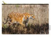 Tigers Burning Bright Carry-all Pouch