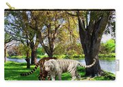 Tigers By The City Carry-all Pouch