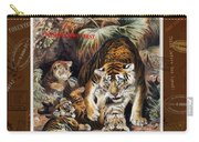 Tigers For Responsible Tourism Carry-all Pouch