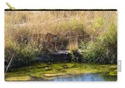 Tigress By The Stream Carry-all Pouch