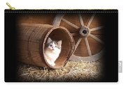 Tiki In The Old Barrel Carry-all Pouch