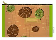 Tiki Lounge Wallpaper Pattern Carry-all Pouch