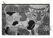 Tile Cow Carry-all Pouch