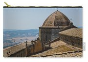 Tile Roof Tops Of Volterra Italy Carry-all Pouch