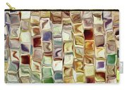 Tiled Abstract Carry-all Pouch