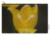 Tiled Yellow Tulip Carry-all Pouch