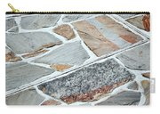 Tiles From Sandstone Quarried Stone Carry-all Pouch