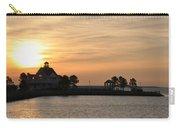 Tilghman Island Marina At Sunrise Carry-all Pouch