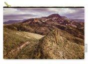 Tilt-shift Mountain Peak Carry-all Pouch