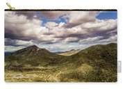 Tilt-shift Mountain Road Carry-all Pouch
