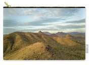 Tilt-shift Mountains In Sun Carry-all Pouch
