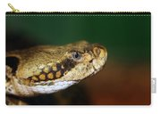 Timber Rattler Head On Carry-all Pouch