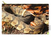 Timber Rattlesnake Horizontal Carry-all Pouch