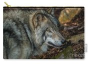 Timber Wolf Picture - Tw417 Carry-all Pouch